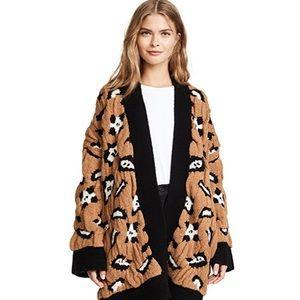 🐆 Zadig & voltaire leopard cardigan